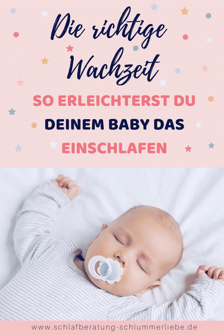 Die richtige Wachzeit – So vermeidest du Übermüdung und erleichterst das Einschlafen deines Babys