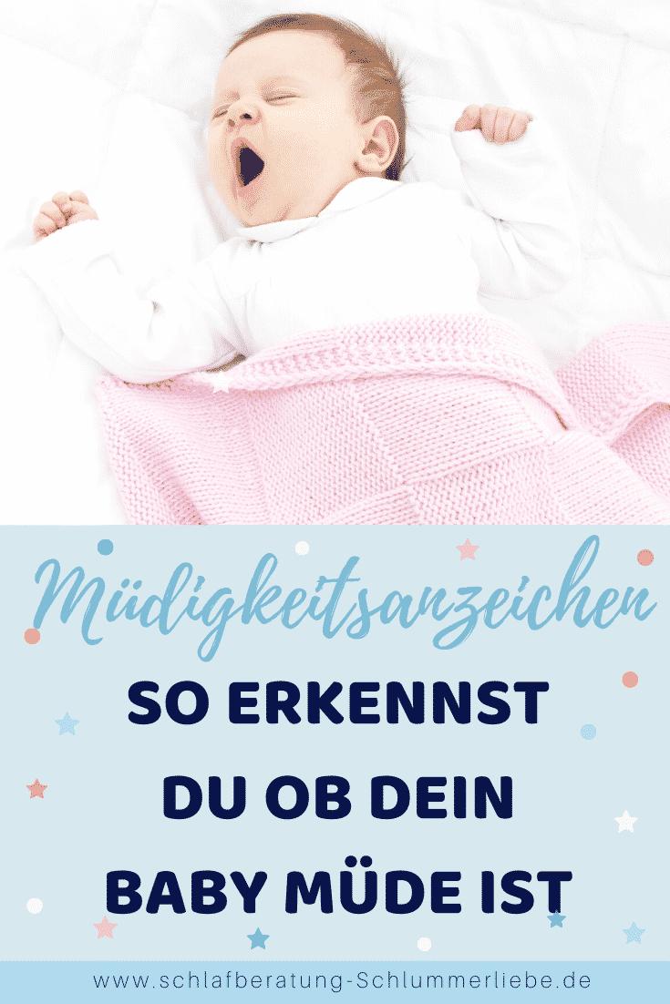 Müdigkeitsanzeichen – So erkennst du, ob dein Baby müde ist