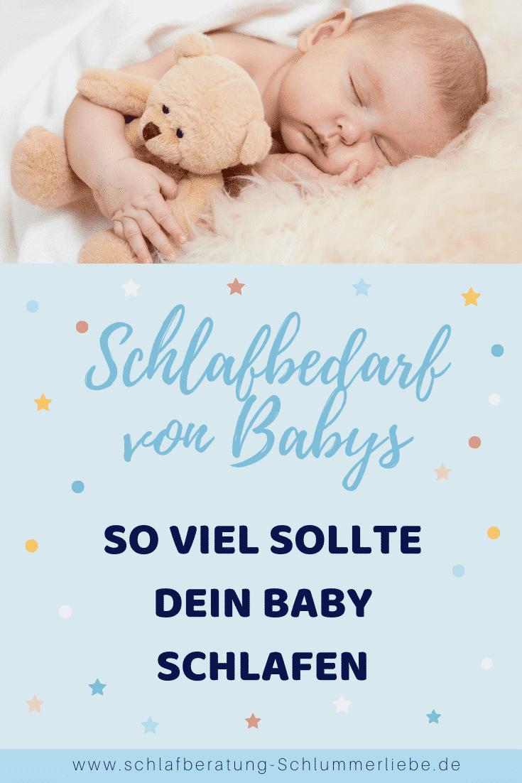 Schlafbedarf – Soviel sollte dein Baby schlafen